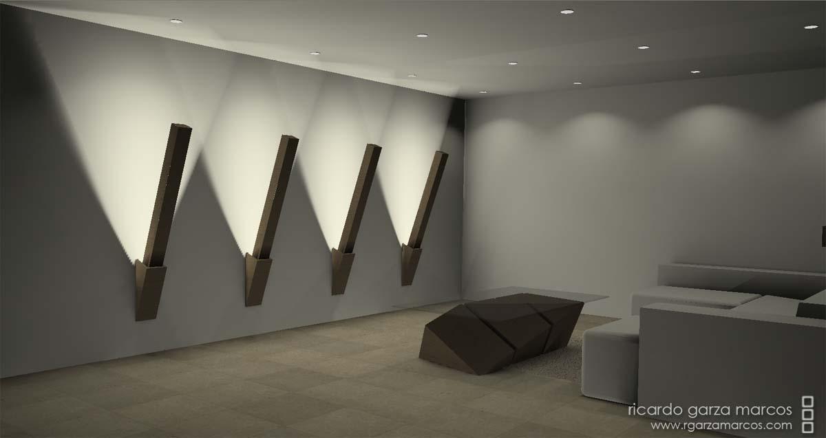 Ricardo garza marcos iluminacion - Luces de pared para dormitorio ...